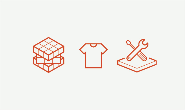 Iconography used for HeatmasterSS brochure