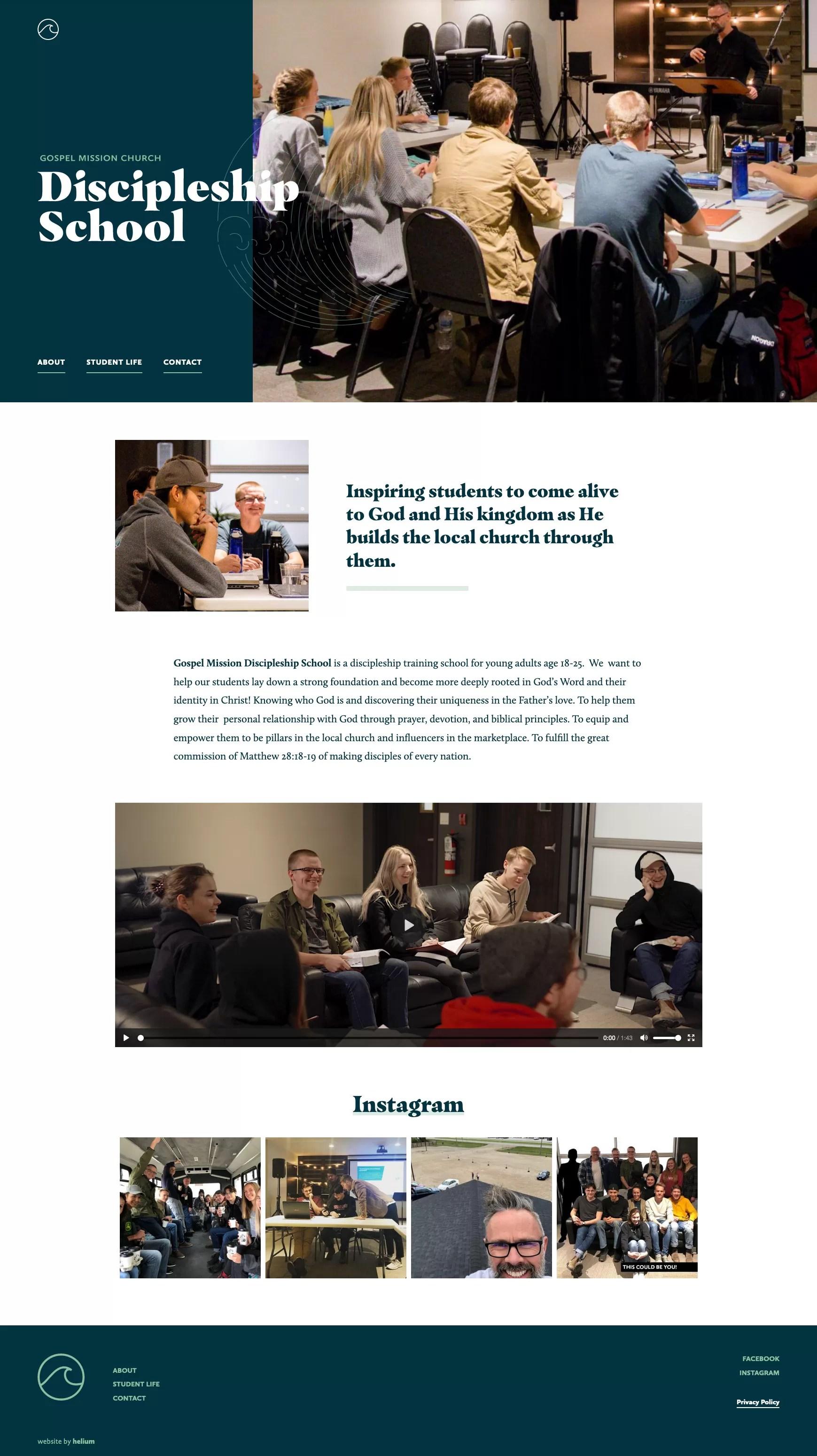 GM DS Homepage Desktop