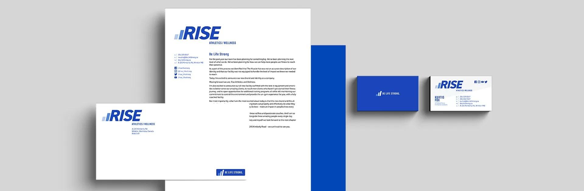 Rise Stationery Set