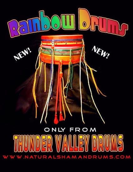 Rainbow Drums from Thunder Valley Drums