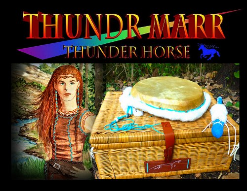 Thunder Horse Lightning-Struck Drum from Thunder Valley Drums