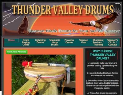 sneak peek at new thunder valley drums site