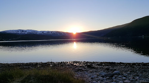 midnight sun in norway