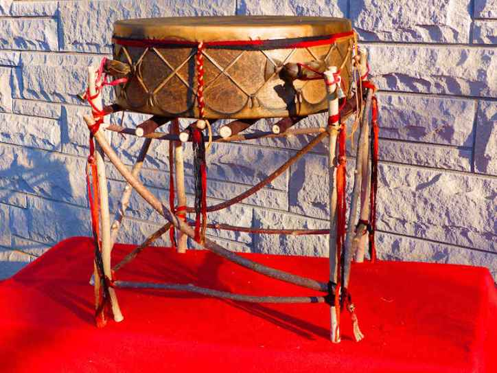 wow powwow drum