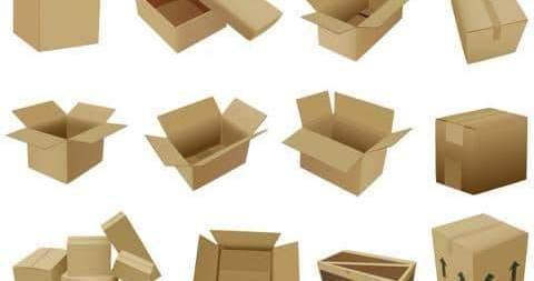 Các mẫu thùng giấy carton