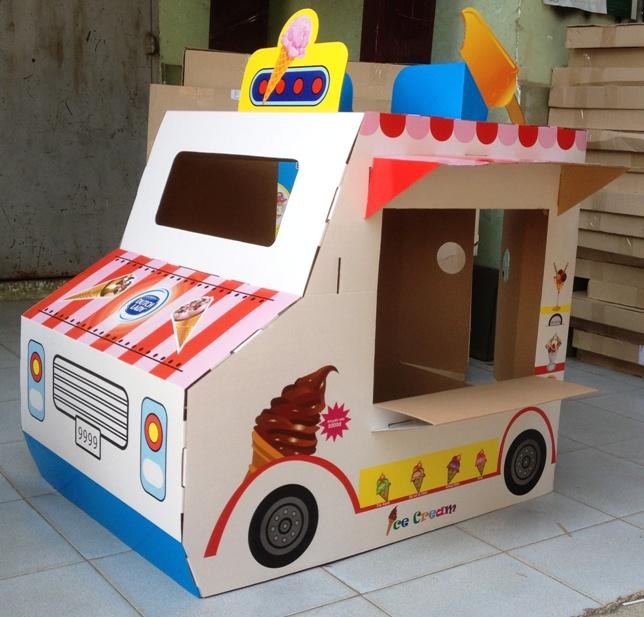 Kết quả hình ảnh cho đồ chơi cho bé bằng thùng carton