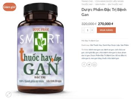 Ví dụ Marketing dược phẩm
