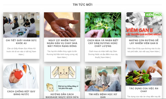 Vị trí hiển thị bài đăng của bạn xuất hiện trên website Thuốc Hay.Top