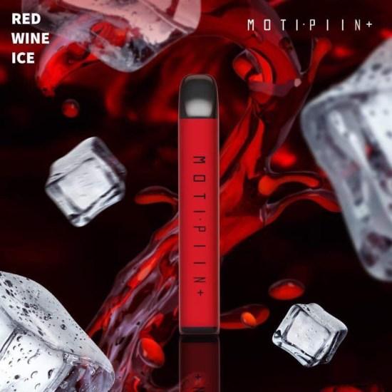 Pod 1 lần Moti Piin Plus Red Wine Ice vị vang đỏ lạnh 1500 hơi - Thuốc Lá Xanh