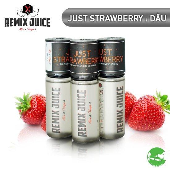 Remix Juice mùi đơn hương dâu tây - Thuốc Lá Xanh