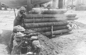 F6-IPKF troops on guard