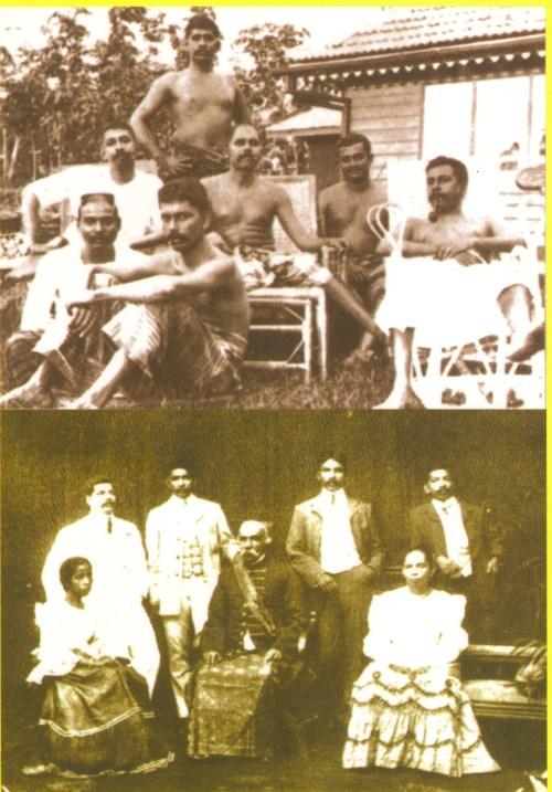 66a-Don Spater Senanayake and family