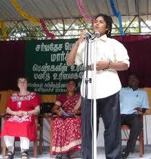 THAMILINI speaking