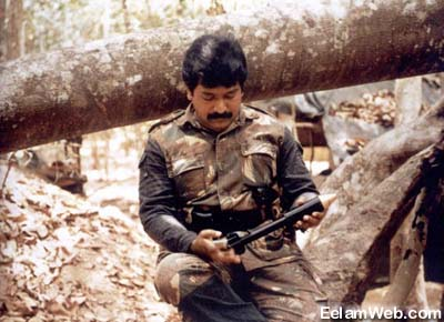 13a--young Prabhakaran warrior