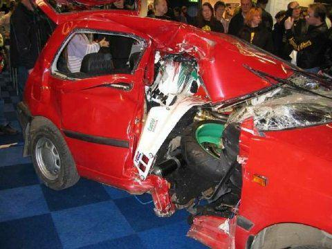ACCIDENT-CAR MO BIKE 1