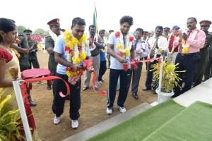 Mahela + Sanga inaugurate M-Cup 2012