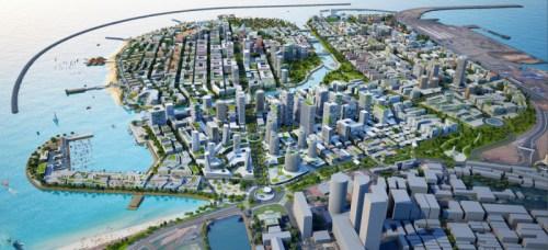 Colombo port city plan