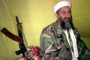 Osama bin Laden With Gun
