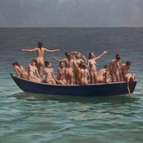 nude BOAT PEOPLE