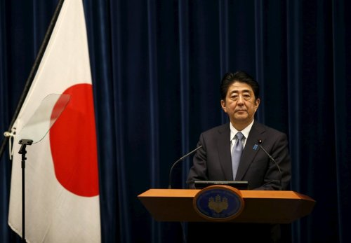 Shinzo Abe of Japan - Credit Toru Hanai...Reuters