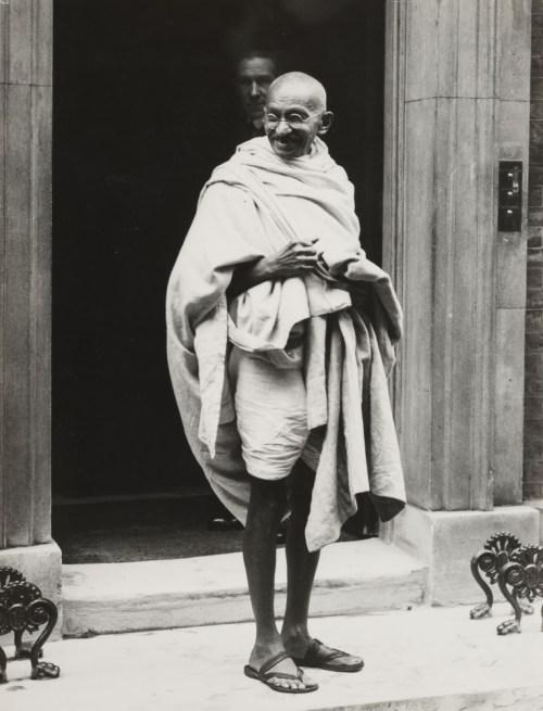 Gandhi at downing st