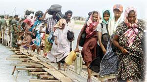 K 127c -- Tamil stram refugees-Island