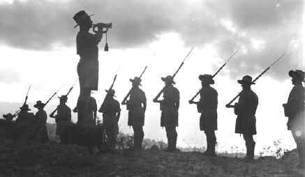 The Last Post for Anzacs