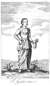 kandyan woman -Knox