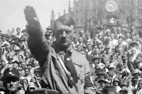 Hitler salutes 11