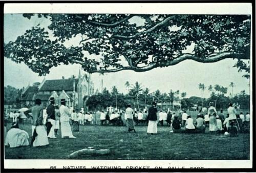 01--Natives watch cricket GF Green 1890s