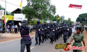 34a - Black Tigers Marching