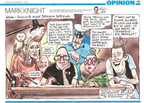 Mark_Knight SW cartoon 16-9-2018 HERALD SUN