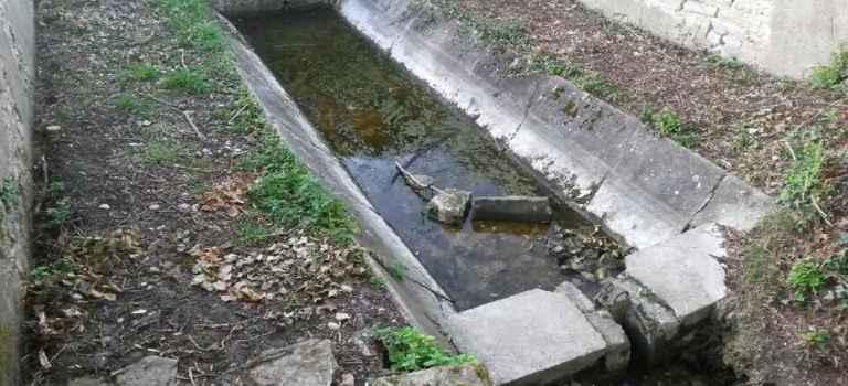 Deuxième dégradation sur une fontaine en cours de rénovation