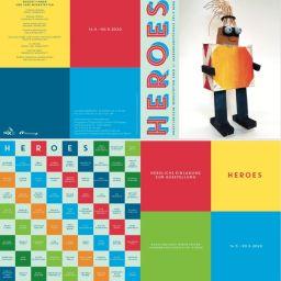 """14.05.20 Ausstellung """"Heroes"""" künstlerische Werkstätten, Fri-X"""