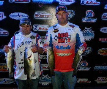 4th Place & Big Bass – Anthony Skouby / Jason Williams