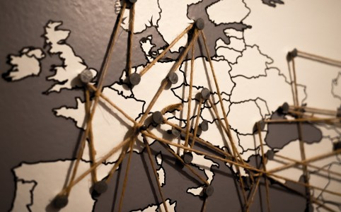 Europe's Ties. Photo by Andras Barta.