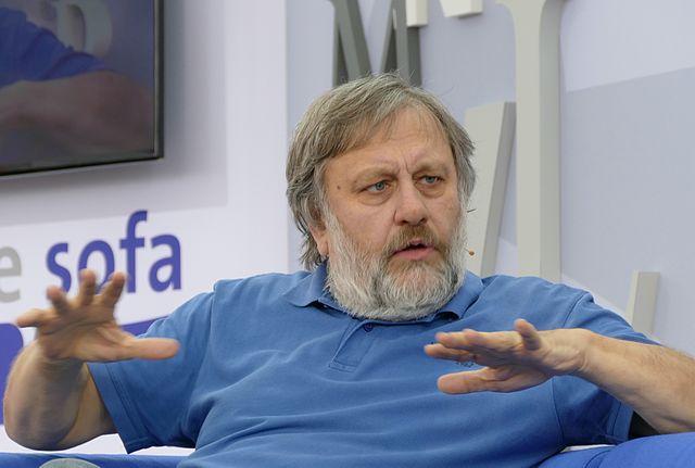 Slavoj Žižek in 2015. Image by Amrei-Marie