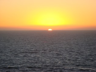 Sunset From SF - m