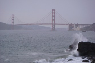 The Sea Outside the GGB - m