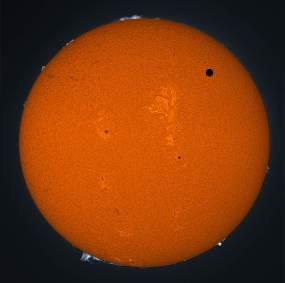 Venus in Transit across the Sun in 2012