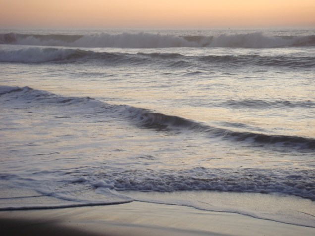 Waves At Sunset - m