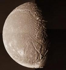 Uranus' Moon Ariel