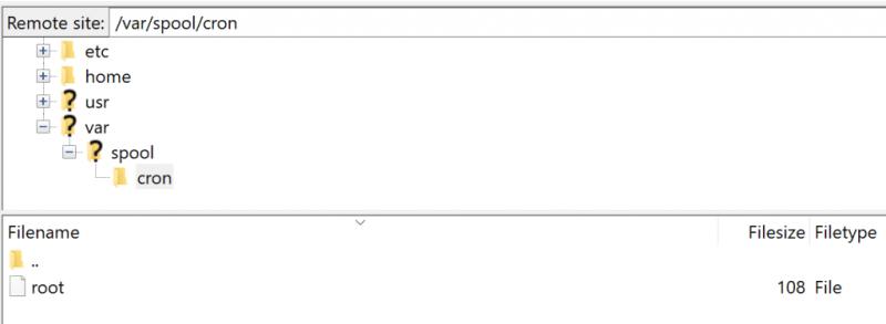 Sửa lỗi No crontab for root qua 4 bước 1