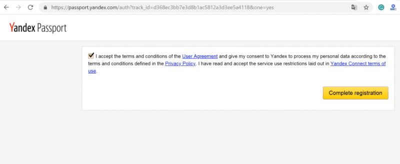 Đăng ký Yandex để tạo Email Tên Miền Miễn Phí 9