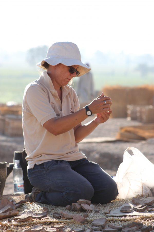 Bettina Bader Egiptóloga
