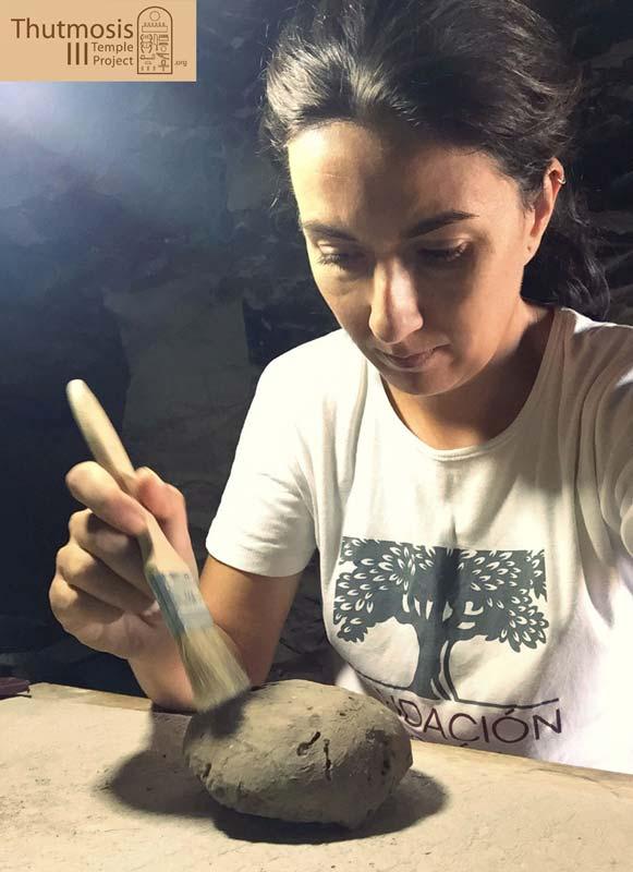 Inés García Conservadora restauradora en Patrimonio Arqueológico
