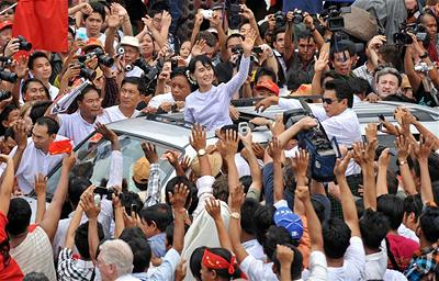 Nữ Phật tử Aung San Suu Ky
