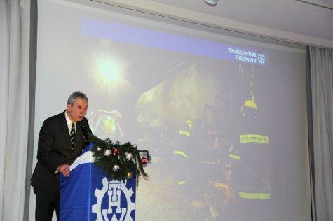 Bezirksstadtrat Frank Mückisch. Bild:THW/Paul Jerchel