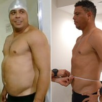 Veja o antes e o depois de Ronaldo no Medida Certa