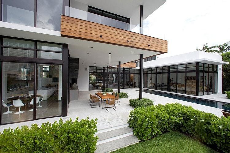 Residência Franco localizada na Flórida